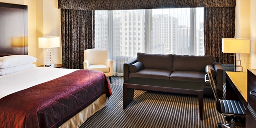 $95 -- Chicago Hotel near Mag Mile into Spring, Half Off
